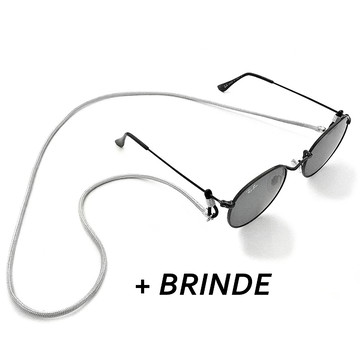 Cordinha Para Oculos Cinza