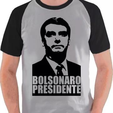 Camiseta Raglan Bolsonaro