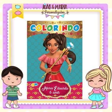 Revistinha de colorir Elena de Avalor