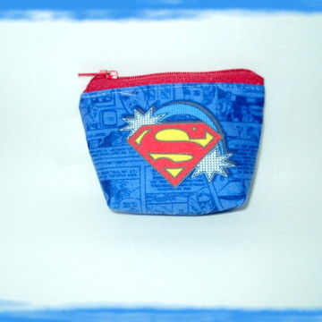 SUPER HEROIS PORTA MOEDAS SUPER HOMEM