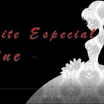Convite Animado Casamento preto e branco