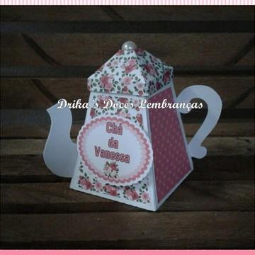 Lembrancinha Chá de Cozinha Bule