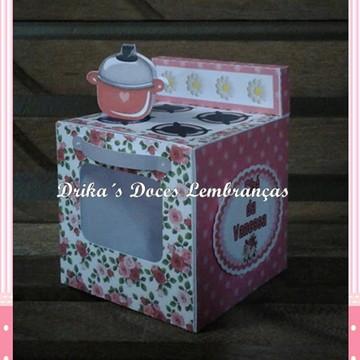 Lembrancinha Chá de Cozinha Fogão