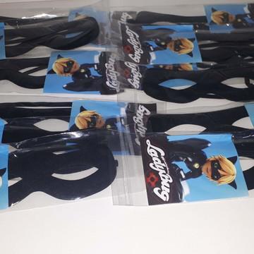 12 Máscaras CatNoir - embaladas INDIVIDUALMENTE