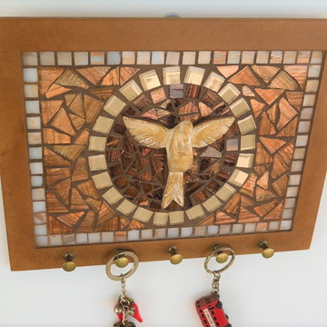 Porta Chaves mosaico Divino