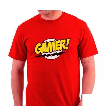 Camiseta Personalizada Geek Gamer - Promoção!