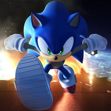 Painel para festa Infantil Sonic