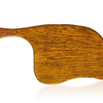 Tábua de corte em madeira maciça - Jatobá - Modelo Pecorino