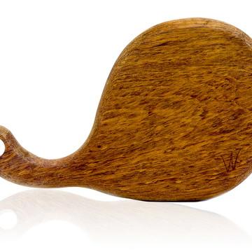 Tábua de corte em madeira maciça - Jatobá - Modelo Brie