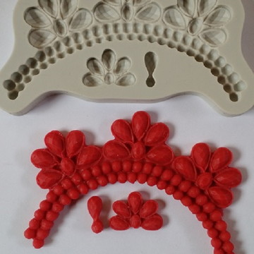 molde silicone colar