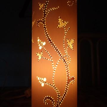 Luminária, abajur artesanais