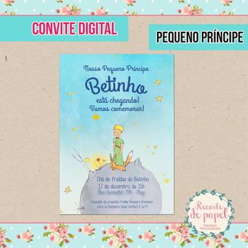 Convite Pequeno Príncipe - DIGITAL