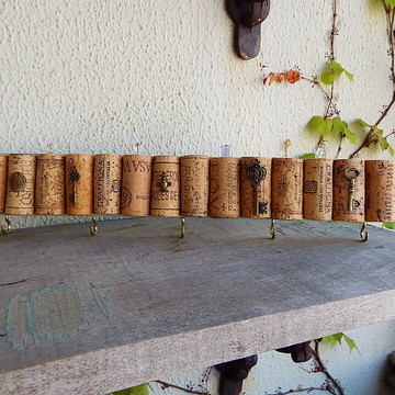 Porta-Chaves/Porta-Bijoux Cork