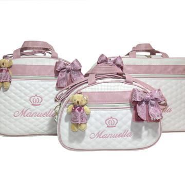 Kit Bolsa Maternidade CR-0104GMP - Personalizado