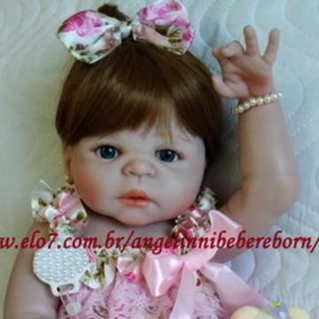 5f1d3bbbef Bebê Reborn Tati - Silicone - Pronta Entrega!! Promoção