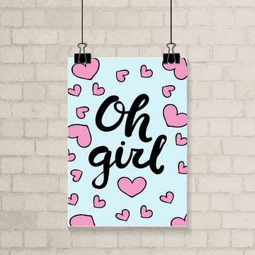 Poster A3 - Oh Girl!
