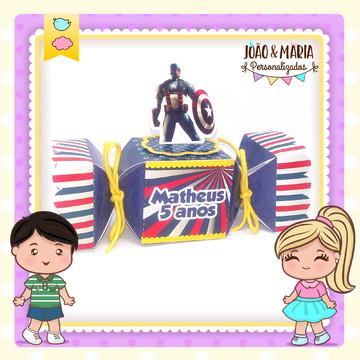 Caixa bala Capitão América