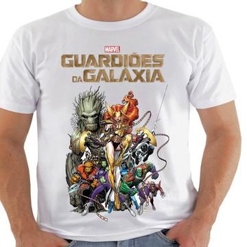 kit com 4 camiseta guardiões da galaxia
