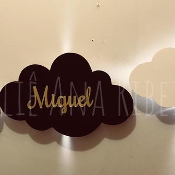 Nuvens luminária kit com 3