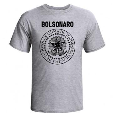 Camiseta Jair Bolsonaro Presidente Raglaln PSL 17 BolsoMito