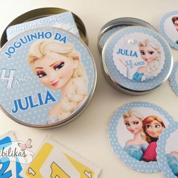 Lembrancinha Frozen - Kit joguinhos
