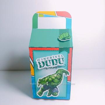 Caixa Milk | Hulk
