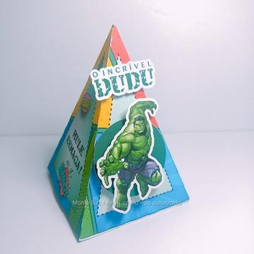 Caixa Pirâmide | Hulk