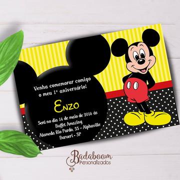 Convite Infantil Mickey II