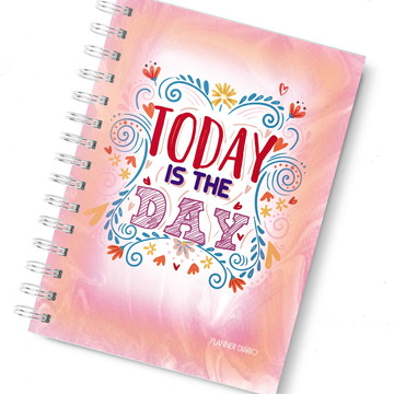 Planner diario today is the day