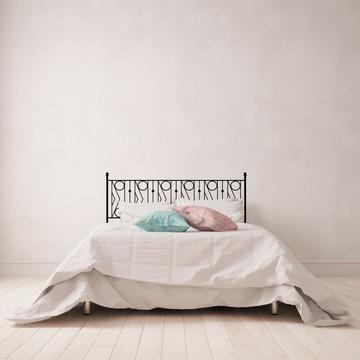 Cabeceira Element Old Gate (cama casal)