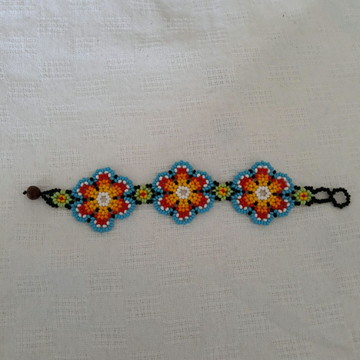Pulseira/Bracelet flores