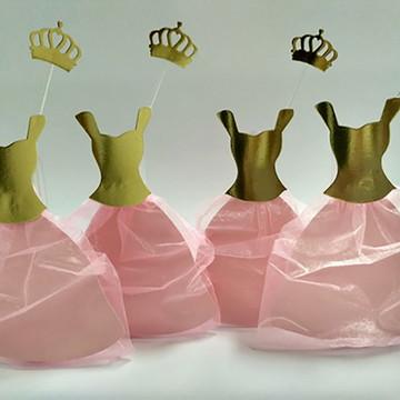 Tubetes Vestido de Princesa