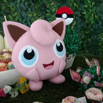 Jigglypuff de Feltro - Pokemon