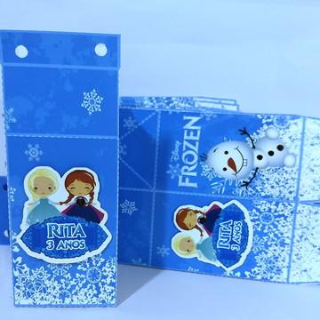 Caixa Milk personalizada frozen