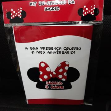 Kit de pintar - A casa do Mickey