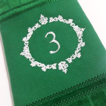 Toalha de Lavabo Bordada Personalizada #M3