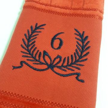 Toalha de Lavabo Bordada Personalizada #M6