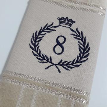 Toalha de Lavabo Bordada Personalizada #M8