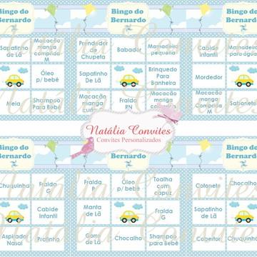 Baby Bingo Ursinho | Envio por e-mail