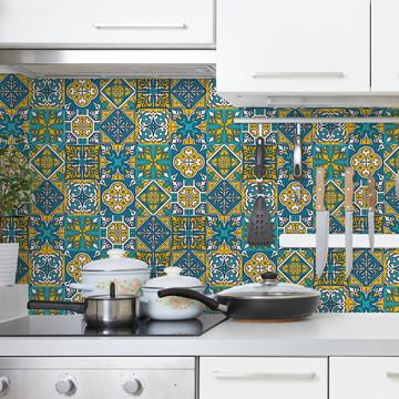 Adesivos de Azulejo 15x15 Marrocos 01