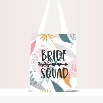 Sacola Ecobag Personalizada Bride Squad