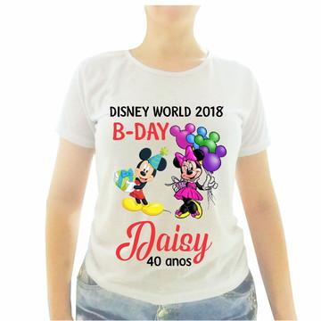 5 Camisetas - 2 infantil + 3 adultas - Bday Daisy