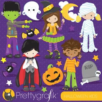 Kit Digital Imagens Halloween Dia das Bruxas Pretty Grafik