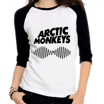 Baby Look Raglan Arctic Monkeys Do I Wanna Know Três Quartos
