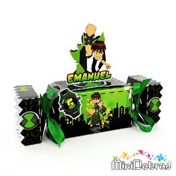 Caixa Bala 3D Ben 10