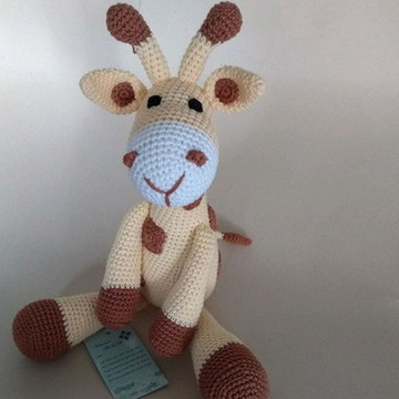Amigurumi Girafa Oliver