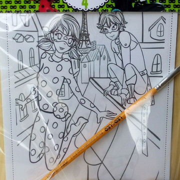 Kit de Pintura Miraculous Lady Bug
