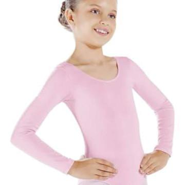 9233e52e26 Collant Manga Longa Ballet Bale Infantil