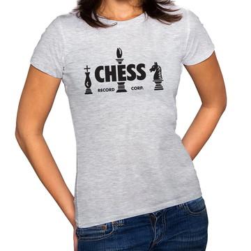 Camiseta Feminina Baby Look Gravadora Chess Records