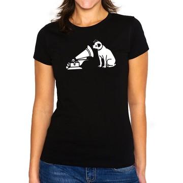 Camiseta Feminina Baby Look Gravadora RCA Records
